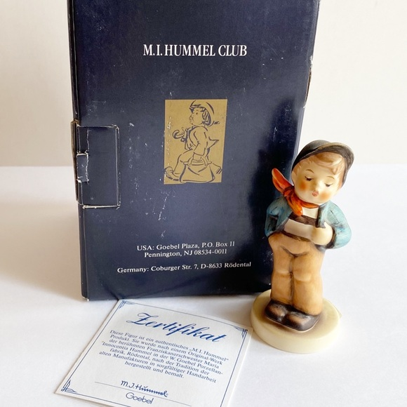 "Goebel Hummel Figurine ""Lucky Fellow"""